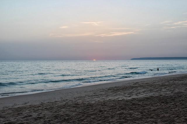 Puesta de sol en Tarifa