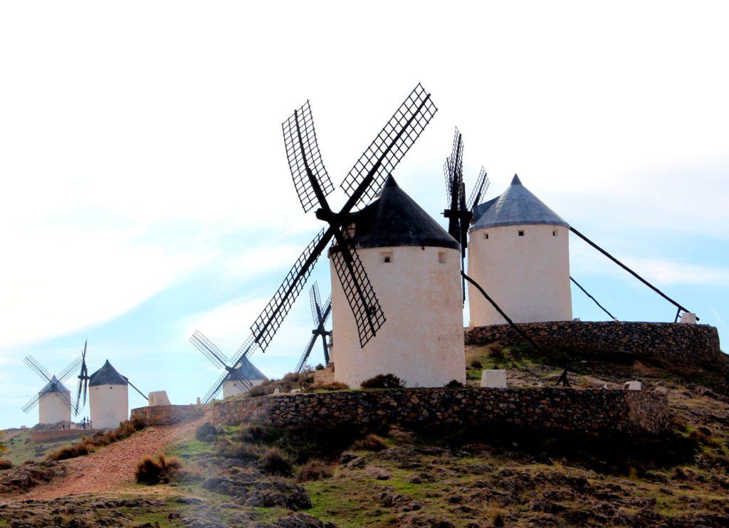 Molinos de viento de Consuegra. La Mancha