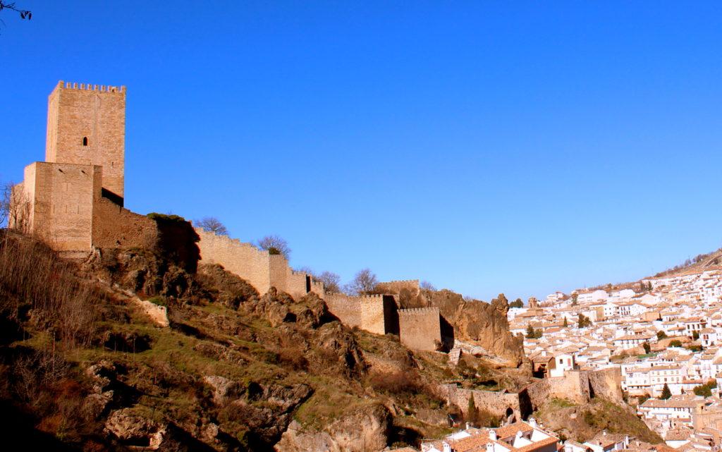 Castillo de Yedra en Cazorla