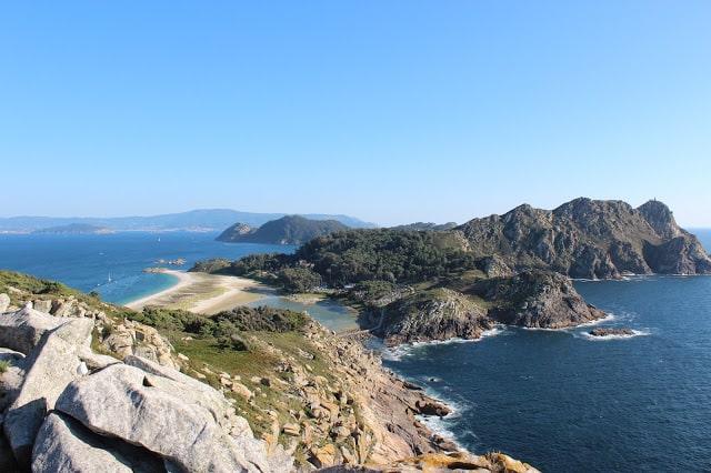 Playas islas Cíes