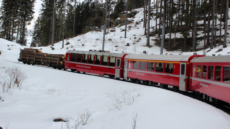 Tren Bernina Expres