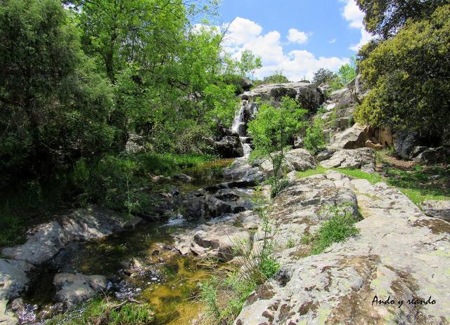Cascada Fresnedilla de la Oliva