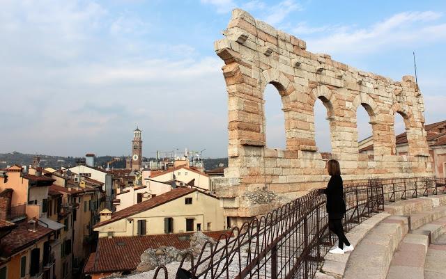La romántica ciudad de Verona