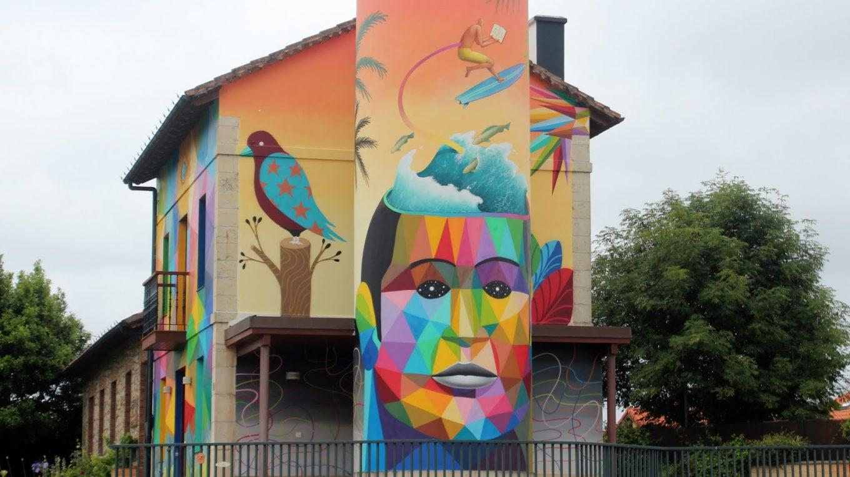 Arte urbano en Somo