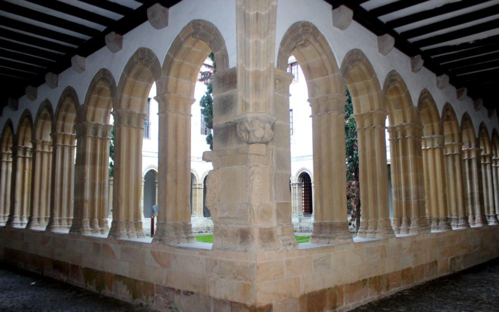 Claustro del convento de Bermeo