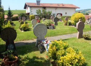 Cementerio de Ainhoa. País Vasco Francés