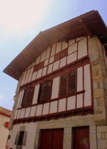 Casa típicas Ainhoa. País Vasco-Francés