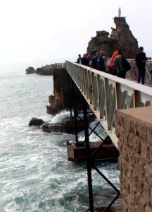 Roca de la Virgen. Biarritz