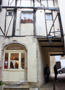 Calles pintorescas de Salies de Béarn
