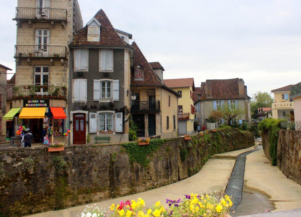 Río Le Saleys en Salies de Béarn