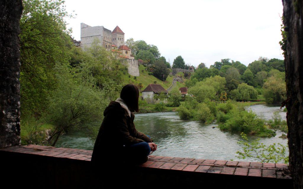 Río le Gave d'Oloron. Sauvaterre de Bèarn