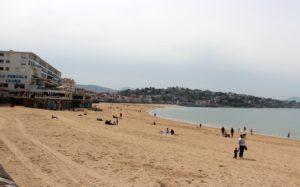Playa Grande en S. Juan de Luz