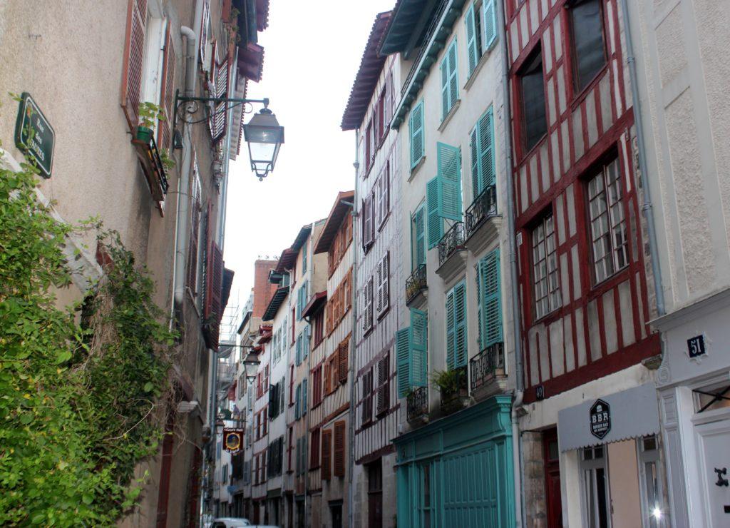 Casas de colores en Bayonne