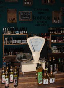 Tienda de productos típicos en Gáldar
