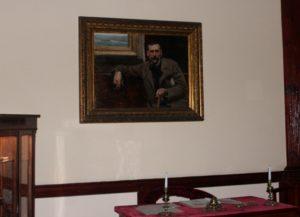 Retrato de Benito Pérez Galdós. Obra de Sorolla