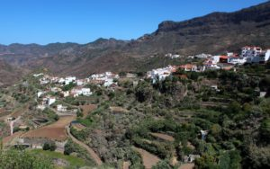 Casas blancas de Tejeda