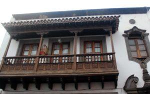 Balcones de madera en Teror
