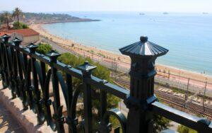 Rambla Nova y Balcón del Mediterráneo en Tarragona