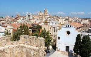 Vistas desde la Torre del Pretorio en Tarragona