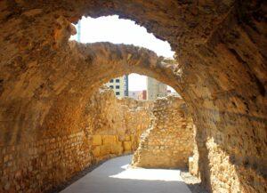 Vueltas interiores del circo romano de Tarraco