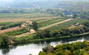 Paisajes de Tarragona. Río Ebro