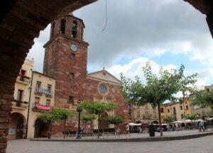 Plaza mayor de Prades