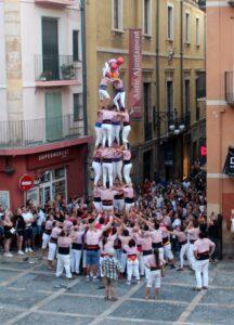 Torre humana. Castells en Tarragona