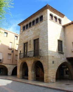 Casa Desclerge en Montblanc (Tarragona)