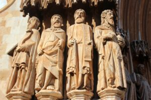 Apostoles de la catedral de santa Tecla. Tarragona