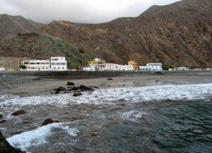 Playa y caserio de Roque de las Bodegas