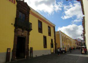 Casas de colores en San Cristóbal de la Laguna