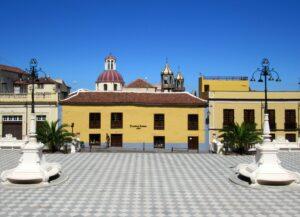 Plaza del Ayuntamiento en La Orotava