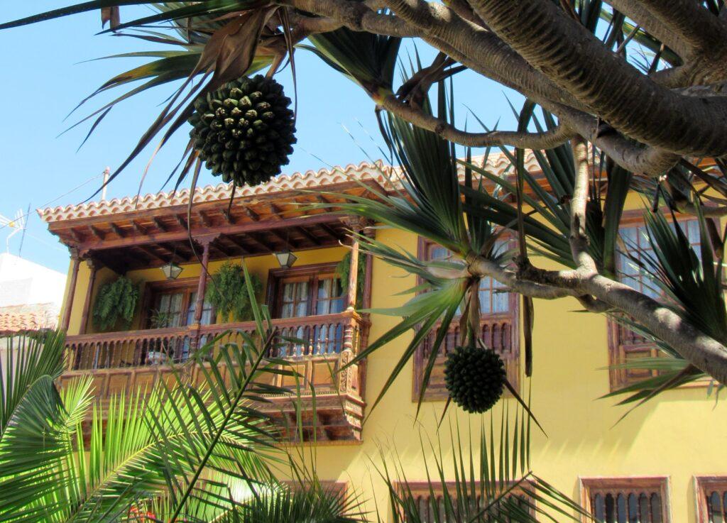 Balcones de madera de La Orotava