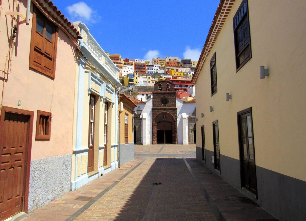 Calles de San Sebastián de La Gomera