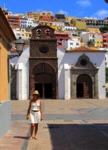 Calles del centro histórico de San Sebastián de La Gomera