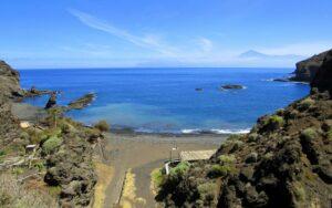 Playa de la Caleta en Hermigua