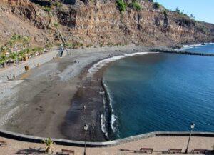 Playa de la Cueva. San Sebastián de La Gomera