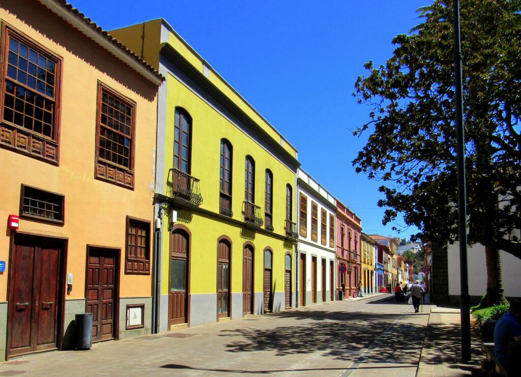 Calles de colores en San Cristóbal de la Laguna