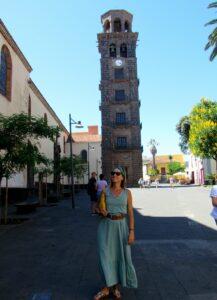 Torre campanario de la iglesia de Nuestra Señora de la Concepción