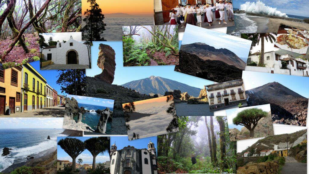 Paisajes del norte de Tenerife (Islas Canarias)