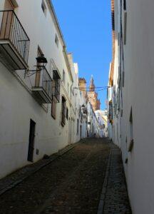 Calles blancas de Jerez de los Cabelleros