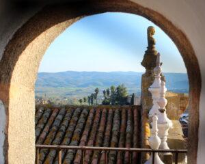 Vistas desde la torre de Jerez de los Caballeros