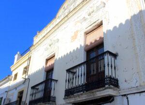 Palacetes de la calle Ancha de Zafra