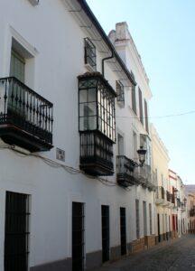 Calles blancas de Zafra