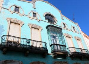 Casa azul de Zafra