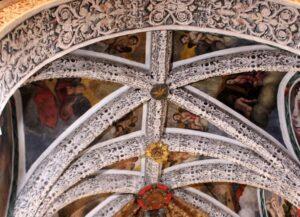 Trampantojos ermita Virgen del Ara