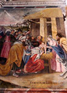 Escenas del Génesis en la ermita de la Virgen del Ara
