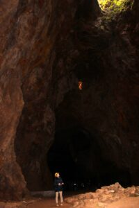En las entrañas de la mina de la Jayona
