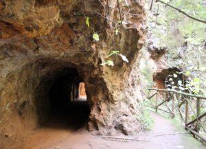 Túneles de mina de la Jayona