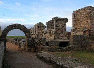 Yacimiento romano de Regina